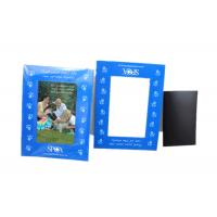 Quality Magnetic Picture Frames for Refrigerator 4x6 inch Colorful Photo Note Schedule Holder for sale