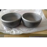 Quality Pressure Cap Pipe Fittings Vessel Stainless Steel End Caps For Pipes for sale