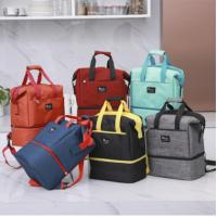 Quality Promotional waterproofing cooler bag 20L keep food fresh 6 colors in stock 100% polester customized logo for sale