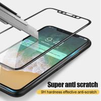 Quality 3D Curved Soft Edge Full Tempered Glass Protective Film For IPhone X 10 for sale