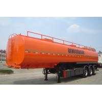 Quality CIMC  China 3 axle fuel oil tanker trailer truck semi trailer for sale