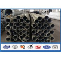 Quality 500KGS Design Load galvanized steel pipe with Bituminous Painting 30 m /s Wind Speed for sale