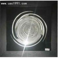 Buy cheap Interior 3d Wall Art UA5752 Silver MDF Framed Art Decoration from Wholesalers