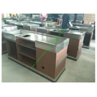 Buy Stainless Steel Cash Register Counter Stand / Till Counters For Shops Or Retail at wholesale prices