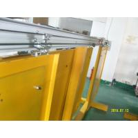 Quality AC250V motorized Residential Automatic Sliding Doors Wooden frame type for sale