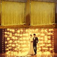 Quality led curtain wedding for sale