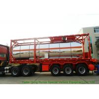 Quality 30FT   Steam Heating Insulated Tank Container Stanless Steel  For  Phosphoric Acid  H3PO4 for sale