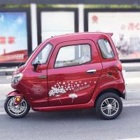 Quality Disc Brake 60V 58Ah Battery Passenger Electric Tricycle for sale