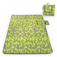 Buy cheap Eco Friendly Green Folding waterproof Picnic mat Blanket for Travel / Leisure from wholesalers