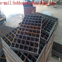 Quality heavy duty steel grating/floor metal grates/serrated bar grating stair treads/steel grating weight per square foot for sale