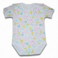 Quality Baby Romper, Made of 100% Cotton, Customized Brands are Welcome for sale