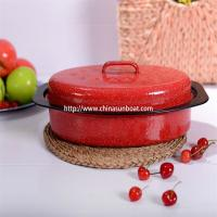 Quality Enamel Small Roaster Iron Cast cookware Kitchenware Wholesale For houseware for sale