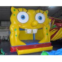 China Spongebob Jumping Inflatables World Wide Fun Inflatable Bouncy House For Toddler on sale