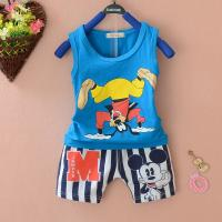 Quality Children cartoon striped pants baby clothing suit 0 to 3 years for sale
