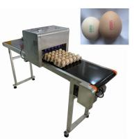 Quality 12V 4A Eggs Continuous Inkjet Printer , High Speed Inkjet Date Code Printer  for sale