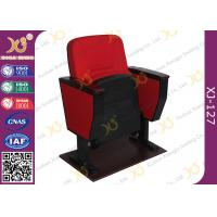 Buy cheap Black Double Leg Concert Hall Auditorium Chairs Plywood Armrest For Interior from Wholesalers