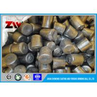 Quality HRC 58-63 12*12mm cast iron steel grinding media balls Of Cement Cr-8 for sale