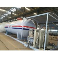 Quality Customized50m3 LPG Skid Station With Automobile LPG Gas Dispenser ASME Certificate for sale