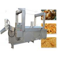 Quality Continuous Automatic Fryer Machine Batch Frying Machine Gas Heating Energy for sale