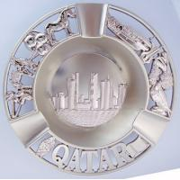 Quality Metal ashtray,premium zinc alloy ashtray with 3D logo for sale