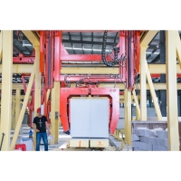 Quality Automatic Concrete AAC Block Making Machine - Rotary clamper Aerated Concrete Block Machine for sale