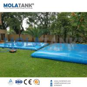 China Mola 20,000L PVC Pool Solutions Water Storage Tank/ Water Storage Bladder on sale