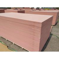 China Factory of MDF BOARD.Pink Fire resistant MDF Board.fire rated melamine board/fireproof mdf board/anti-fire board,12mm,18 on sale