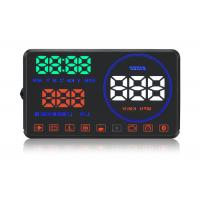M9 Hud Auto Hud Display Water Temperature Alarm , Multi - Color Speed On Windshield Display