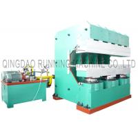 Quality Precured Tyre Tread Vulcanizing Making Machine 500T / Customized Clamping Force for sale