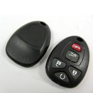 Quality GMC 5Button 315MHZ Auto Remote Key, Plastic Car Key Blanks for GMC for sale