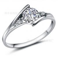 Quality Beautiful women rings wedding ring 2014 new silver jewelry  TJ0013 for sale