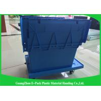 Quality Heavy Duty Big Plastic Shipping Containers With Attached Lids for sale