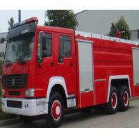 Quality Manual Transmission Type Fire Extinguisher Truck / Fire Fighting Vehicles 20.000 Liters for sale