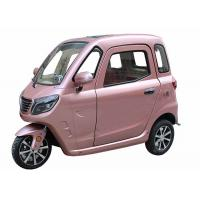 Quality 3 Wheels Central Lock Enclosed Electric Tricycle for sale