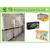China Virgin Wood Pulp C1s Folding Box Board Coated Paper With Full Gsm on sale
