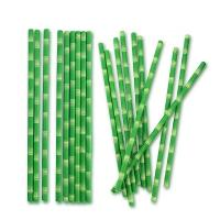Quality Convenient Lightweight Decorative Paper Straws BPA Free Earth Friendly for sale