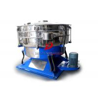 Quality Round Swing Tumbler Screen No Mesh Plug Abrasive Material Low Acceleration for sale