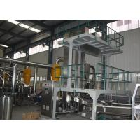 Quality Efficient Almond Skin Peanut Blanching Machine , Blanched Peanuts Processing Line for sale