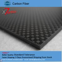 Quality 2.0mm thickness 500mm width carbon fiber plate laminated sheet for sale