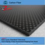 Quality High Strength Reinforced Plastic 3K Carbon Fiber Plate , Matte Plain Carbon Fiber Sheets for sale