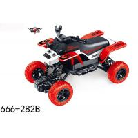 China Electric RC toy car monster truck remote control 1:18 RC red climb motorcycle car toy for kids Christmas gift 666-282B on sale