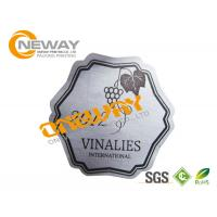 China Printing Custom Label Tags / Red Wine Bottle Label / Glass Bottle Sticker on sale