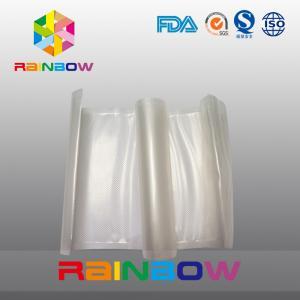 Quality Handy Plastic Food Vacuum Sealer Bags / Resealable Food Grade Plastic Bags for sale