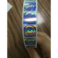 China VOID Holographic Security Stickers Tamper Evident Label 25u Thickness 3D Laser Effect on sale