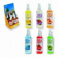 Quality 250mL Spray Air Fresheners with 250mL Capacity, Available in Various Fragrances for sale