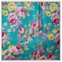 Quality 100% Cotton Flower Print Fabric for sale