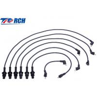 Quality Low Resistivity Spark Plug Cables Black PBT Material Fit CAMRY 90919-15457 for sale