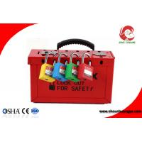 Quality China Lockout Station Advanced Electrical Safety Lockout & Tagout Station for Padlock hasp for sale