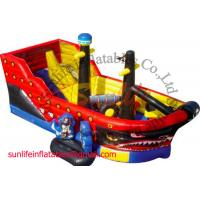 Quality inflatable 0.55mm pvc tarpaulin jumping castle BO105 for sale