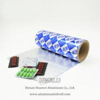 Quality newest price OEM custom printing high quality PTP aluminum foil for pharmaceutical packaging for sale